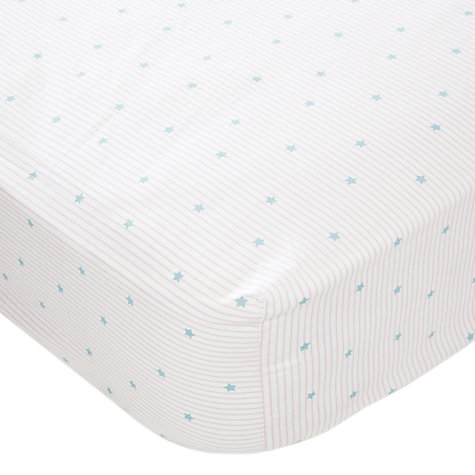 Buy little home at John Lewis Paris Single Fitted Sheet, Pink Online at johnlewis.com