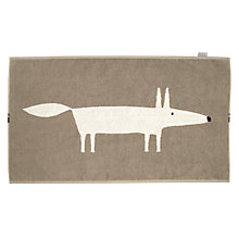 Buy Scion Mr Fox Bath Mat, Natural Online at johnlewis.com