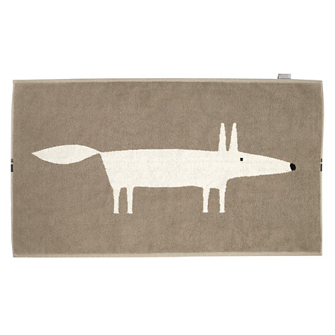 Buy Scion Mr Fox Bath Mat Online at johnlewis.com