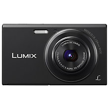 "Buy Panasonic Lumix DMC-FS50 Digital Camera, HD 720p, 16.1MP, 5x Optical Zoom, 2.7"" LCD Screen Online at johnlewis.com"