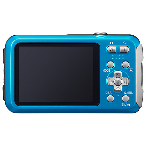 Buy Panasonic Lumix DMC-FT25EB-K Waterproof Camera, HD 720p, 16.1MP, 4x Optical Zoom, 2.7 Screen Online at johnlewis.com