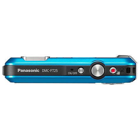 "Buy Panasonic Lumix DMC-FT25EB-K Camera, HD 720p, 16.1MP, 4x Optical Zoom, 2.7"" LCD Screen Online at johnlewis.com"