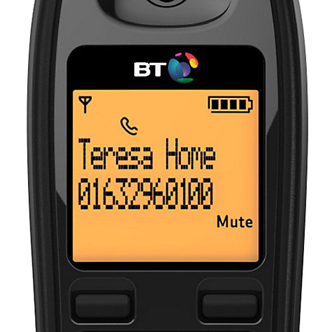 Buy BT 1000 Digital Cordless Telephone, Single DECT Online at johnlewis.com