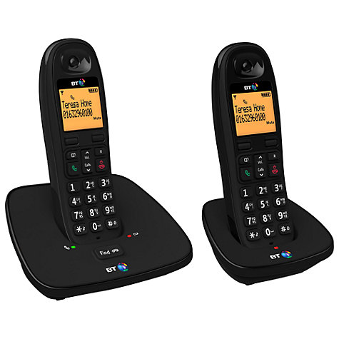 Buy BT 1000 Digital Cordless Telephone, Twin DECT Online at johnlewis.com