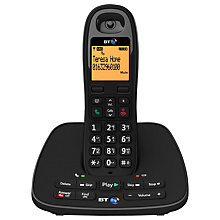 Buy BT 1500 Digital Cordless Telephone and Answering Machine, Single DECT Online at johnlewis.com