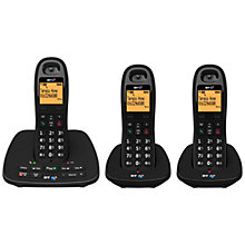 Buy BT 1500 Digital Cordless Telephone and Answering Machine, Trio DECT Online at johnlewis.com