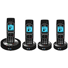 Buy BT 6510 Digital Telephone and Answering Machine with Nuisance Call Control, Quad DECT Online at johnlewis.com