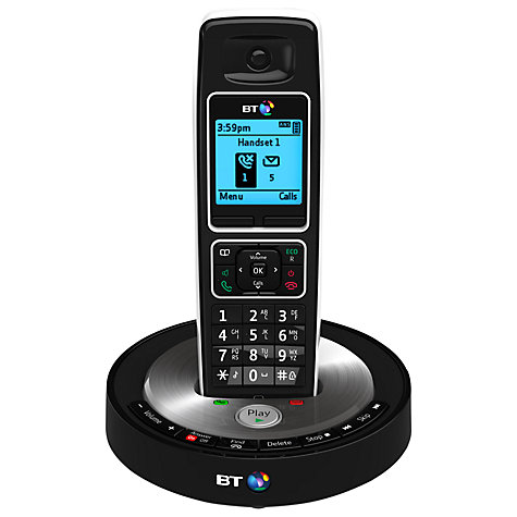 Buy BT 6510 Digital Telephone and Answering Machine with Nuisance Call Control, Single DECT Online at johnlewis.com