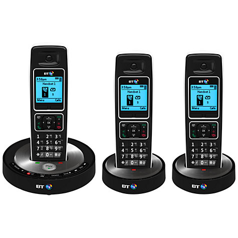 Buy BT 6510 Digital Telephone and Answering Machine with Nuisance Call Control, Trio DECT Online at johnlewis.com