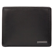 Buy Hugo Boss Gomei Leather Wallet Online at johnlewis.com