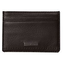 Buy Hugo Boss Grosby Leather Credit Card Holder Online at johnlewis.com