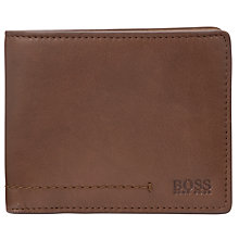 Buy Hugo Boss Sibod Leather Wallet Online at johnlewis.com