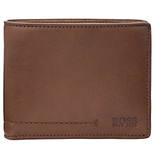 Buy Hugo Boss Sitin Coin Pocket Leather Wallet Online at johnlewis.com