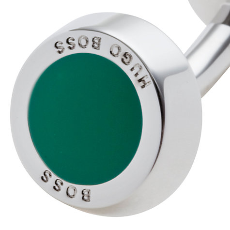 Buy Hugo Boss Simony Rounded Cufflinks Online at johnlewis.com