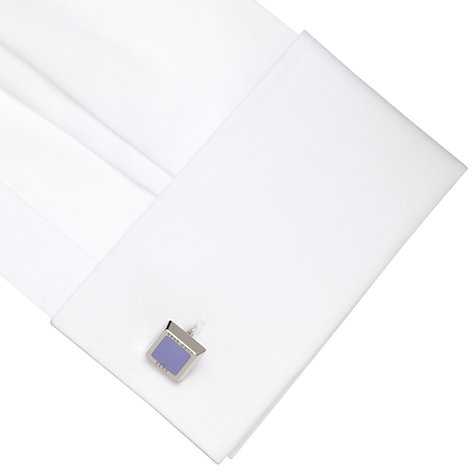 Buy Hugo Boss Simony Rounded Square Cufflinks Online at johnlewis.com