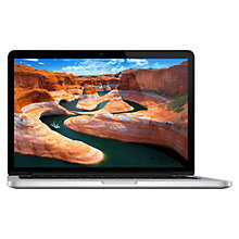 "Buy Apple MacBook Pro with Retina Display, ME662B/A, Intel Core i5, 2.6GHz, 256GB Flash, 8GB RAM, 13.3"" Online at johnlewis.com"