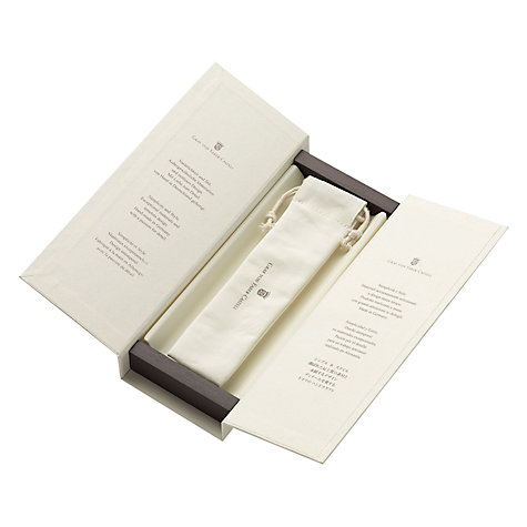 Buy Graf Von Faber-Castell Guilloche Cisele Fountain Pen, Black Online at johnlewis.com