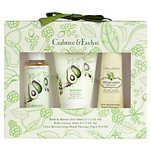 Buy Crabtree & Evelyn Avocado, Olive and Basil Little Luxuries Gift Set Online at johnlewis.com