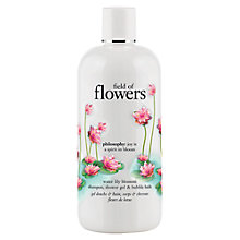 Buy Philosophy Field Of Flowers Water Lily Blossom Shampoo, Bath and Shower Gel, 480ml Online at johnlewis.com