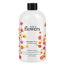 Buy Philosophy Field Of Flowers Wildflower Blossom Shampoo, Bath and Shower Gel, 480ml Online at johnlewis.com