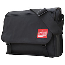 Buy Manhattan Portage Waxed Europa Messenger Bag Online at johnlewis.com