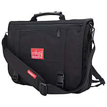 Buy Manhattan Portage The Wallstreeter Messenger/Backpack Bag Online at johnlewis.com