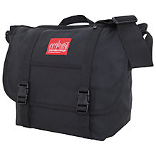 Buy Manhattan Portage Waxed Canvas Messenger Bag Online at johnlewis.com