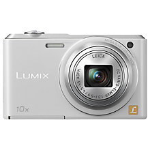 "Buy Panasonic Lumix DMC-SZ3 Digital Camera, HD 720p, 16.1MP, 10x Optical Zoom, 2.7"" LCD Screen with 16GB + 8GB Memory Card Online at johnlewis.com"