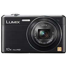 "Buy Panasonic Lumix DMC-SZ9 Digital Camera, HD 1080p, 16.1MP, 10x Optical Zoom, Wi-Fi, 3"" LCD Screen with 16GB + 8GB Memory Card Online at johnlewis.com"