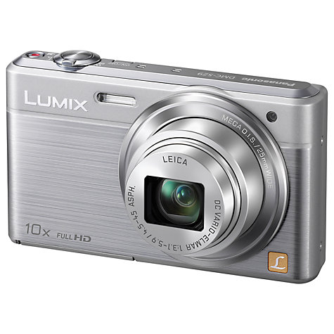 "Buy Panasonic DMC-SZ9 Digital Camera, HD 1080p, 16.1MP, 10x Optical Zoom, Wi-Fi, 3"" LCD Screen Online at johnlewis.com"
