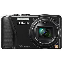 "Buy Panasonic Lumix DMC-TZ35 Digital Camera, HD 1080p, 16.1MP, 20x Optical Zoom, 3"" LCD Screen with 16GB + 8GB Memory Card Online at johnlewis.com"