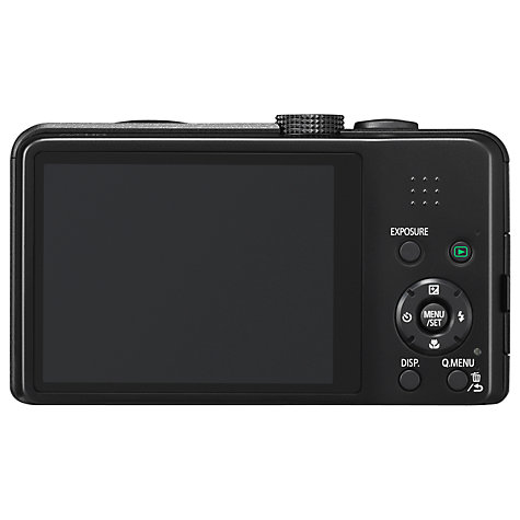 "Buy Panasonic DMC-TZ35 Digital Camera, HD 1080p, 16.1MP, 20x Optical Zoom, 3"" LCD Screen Online at johnlewis.com"