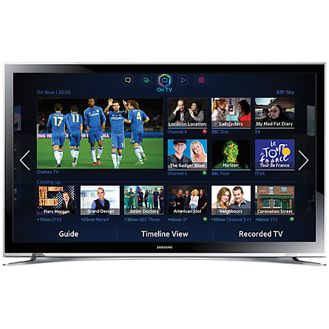 Buy Samsung UE32F4500 LED HD 720p Smart TV, 32 Inch with Freeview HD Online at johnlewis.com