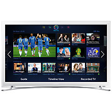"Buy Samsung UE32F4510 LED HD 720p Smart TV, 32"" with Freeview HD, White Online at johnlewis.com"