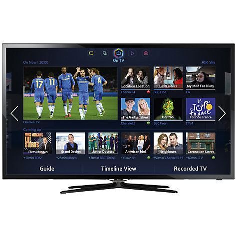 "Buy Samsung UE32F5500 LED HD 1080p Smart TV, 32"" with Freeview HD Online at johnlewis.com"