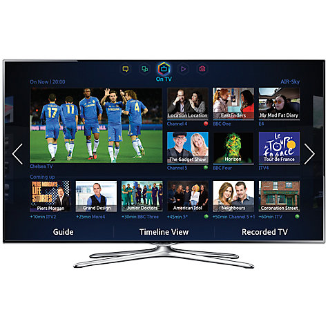 "Buy Samsung UE40F6500 LED HD 1080p 3D Smart TV, 40"" with Freeview/Freesat HD, Voice Control and 2x 3D Glasses Online at johnlewis.com"