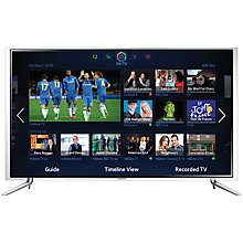 Buy Samsung UE55F6800 LED HD 1080p 3D Smart TV, 55 Inch with Freeview/Freesat HD, Voice Control and 2x 3D Glasses & Sound Bar Online at johnlewis.com