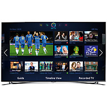 Buy Samsung UE40F8000 LED HD 1080p 3D Smart TV, 40, with 2x 3D Glasses, Sound Bar & FREE Blu-ray Player Online at johnlewis.com