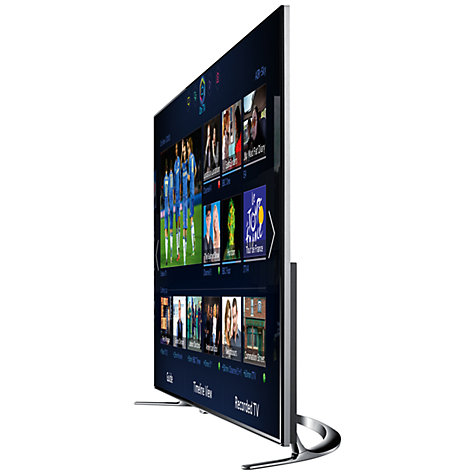 "Buy Samsung UE40F8000 LED HD 1080p 3D Smart TV, 40"", Quad Core with Freeview/Freesat HD and Voice/Motion Control with 2x 3D Glasses Online at johnlewis.com"