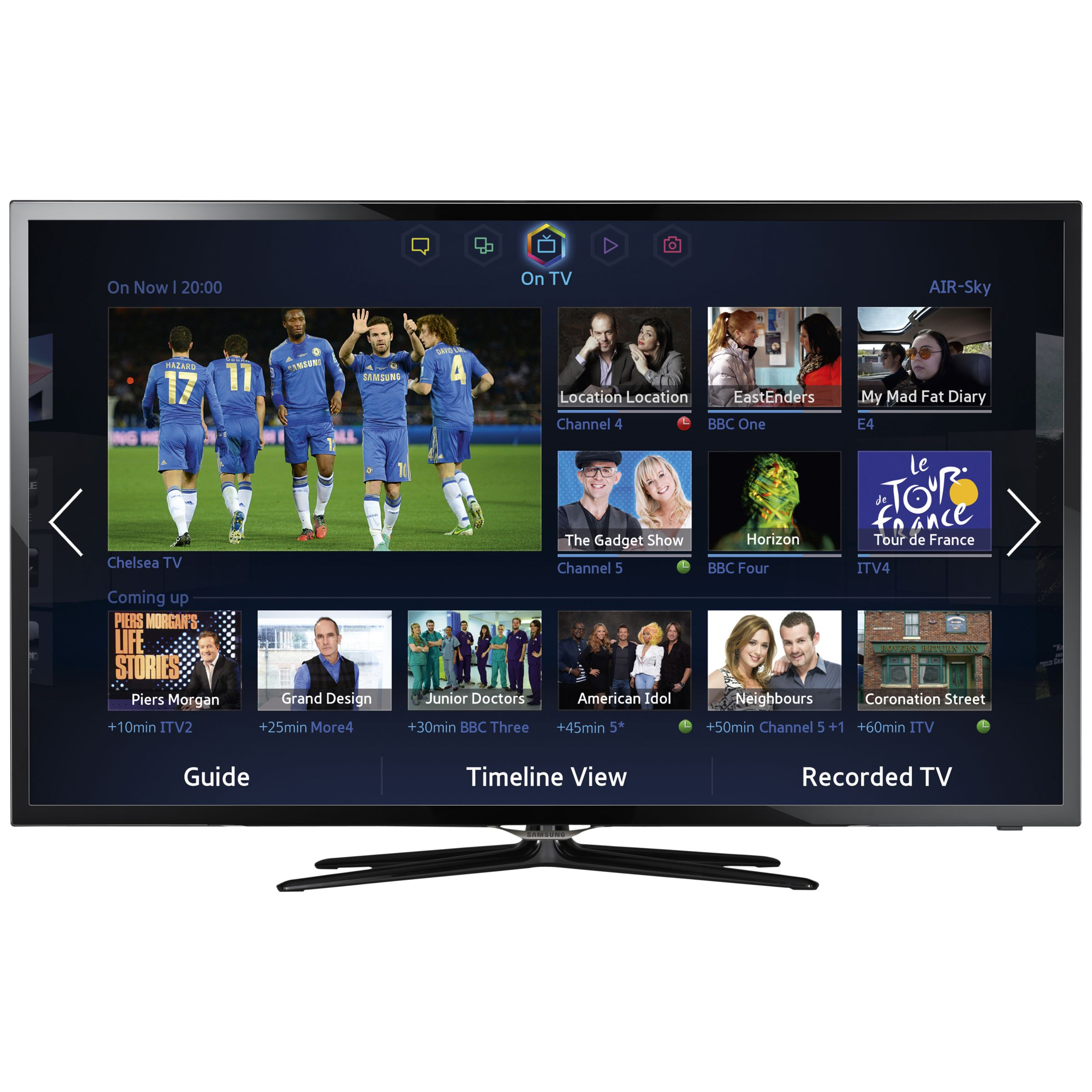 Samsung UE42F5500 LED HD 1080p Smart TV, 42 Inch with Freeview HD