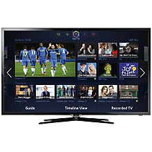 "Buy Samsung UE46F5500 46"" LED TV with Samsung  HW-F751 Sound Bar Online at johnlewis.com"