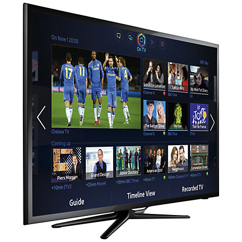 "Buy Samsung UE46F5500 LED HD 1080p Smart TV, 46"" with Freeview HD Online at johnlewis.com"
