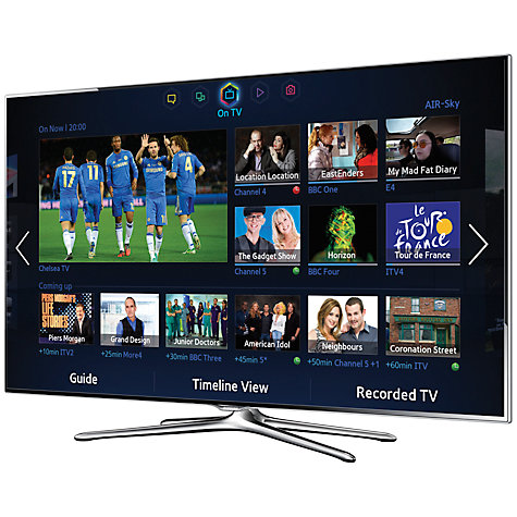 "Buy Samsung UE46F6500 LED HD 1080p 3D Smart TV, 46"" with Freeview/Freesat HD, Voice Control and 2x 3D Glasses Online at johnlewis.com"