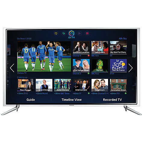 "Buy Samsung UE40F6800 LED HD 1080p 3D Smart TV, 40"" with Freeview/Freesat HD, Voice Control and 2x 3D Glasses Online at johnlewis.com"