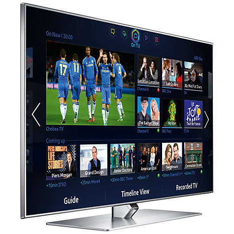 "Buy Samsung UE46F7000 LED HD 1080p 3D Smart TV, 46"" with Freeview/Freesat HD and Voice/Motion Control with 2x 3D Glasses Online at johnlewis.com"