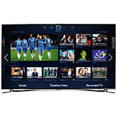 "Samsung UE46F8000 LED HD 1080p 3D Smart TV, 46"", Quad Core with Freeview/Freesat HD and Voice/Motion Control with 2x 3D Glasses"