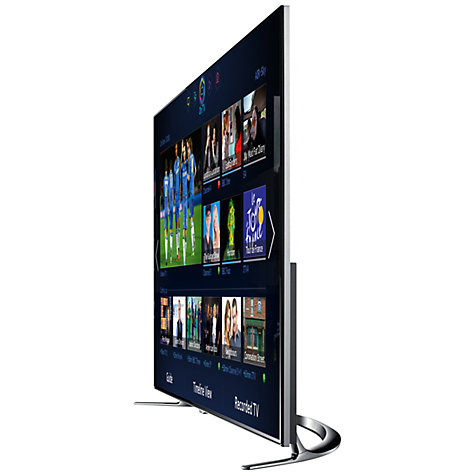 "Buy Samsung UE46F8000 LED HD 1080p 3D Smart TV, 46"", Quad Core with Freeview/Freesat HD and Voice/Motion Control with 2x 3D Glasses Online at johnlewis.com"