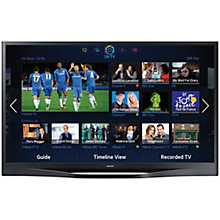 "Buy Samsung UE46F8500 LED HD 1080p 3D Smart TV, 46"", Quad Core, Freeview/Freesat HD and Voice/Motion with HW-F551 2.1 Bluetooth Sound Bar with Wireless Subwoofer Online at johnlewis.com"