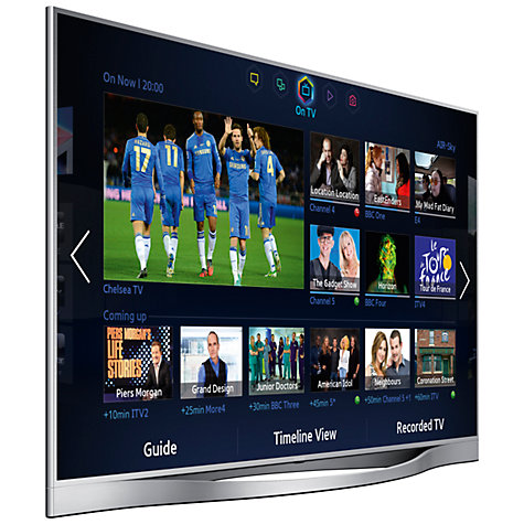 "Buy Samsung UE46F8500 LED HD 1080p 3D Smart TV, 46"", Quad Core with Freeview/Freesat HD and Voice/Motion Control with 2x 3D Glasses Online at johnlewis.com"