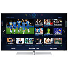 "Buy Samsung UE55F7000 55"" LED TV with Samsung  HW-FF751 Sound Bar Online at johnlewis.com"